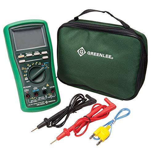 Greenlee - Dmm 500K Counts (Dm-860A), Elec Test Instruments (DM-860A)