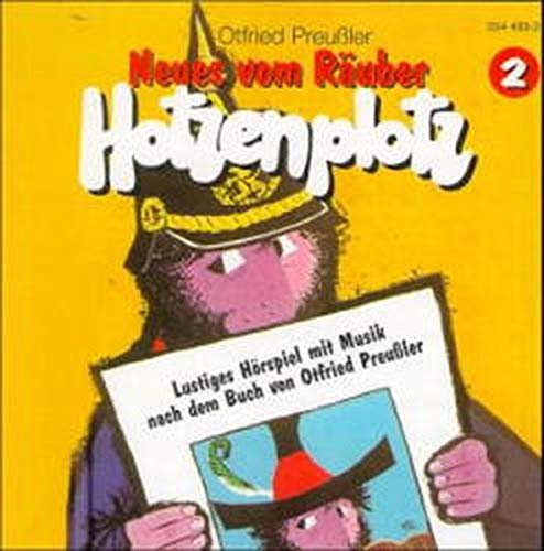 Räuber Hotzenplotz - CDs: Hotzenplotz, CD-Audio, Folge.2, Neues vom Räuber Hotzenplotz, 1 CD-Audio
