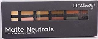 Ulta Eyeshadow Palette, Matte Neutrals