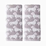 SKL Home by Saturday Knight Ltd. Dog 2 Pc Hand Towel, Gray