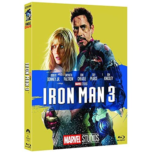 Iron Man 3 10° Anniversario Marvel Studios (Blu Ray)