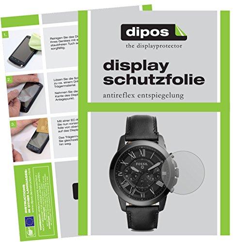 dipos I 6X Schutzfolie 100prozent kompatibel mit Fossil Q Grant Folie (Vollständige Bildschirmabdeckung) Bildschirmschutzfolie