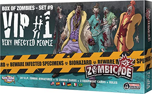 Edge Entertainment- Zombicide: VIP: Very Infected People #1, Color (EECMZC19)
