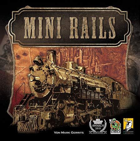 Kobold Spieleverlag Mini Rails Brettspiel deutsch