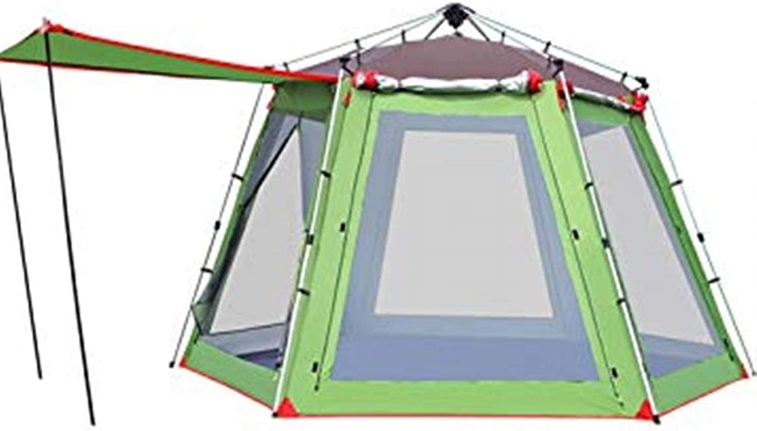Camping Tent Camping Tent 5 8 People Telescopic Aluminum Alloy Camping Equipment Family Camping Tent