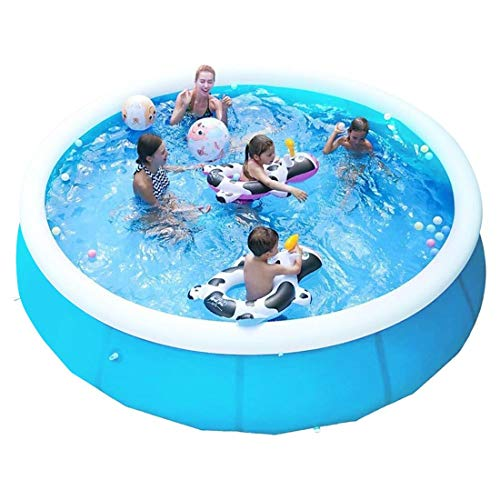 Swimming Pools for Kids and Adults - 6FT X 20IN Quick Set Round Swimming Pool Above Ground, Outdoor, Yard, Garden - Easy Set Blow up Pool