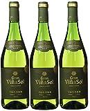 Gran Viña Sol, Vino Blanco - 3 botellas de 75 cl, Total: 2250 ml