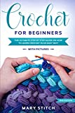 CROCHET FOR BEGINNERS: THE ULTIMATE STEP BY STEP GUIDE ON HOW TO LEARN CROCHET IN AN EASY WAY (With Pictures – 2nd Edition)
