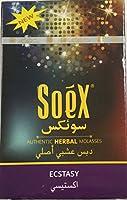(ハーバルフレーバー)SOEX エクスタシー ECSTACY 50g (水タバコ,shisha)
