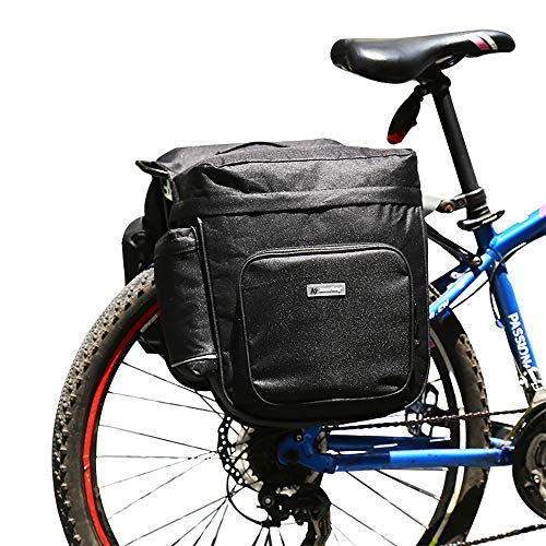 Athyior Bicycle Rear Seat Rack Bag - 28L Bike Pannier Bag with...