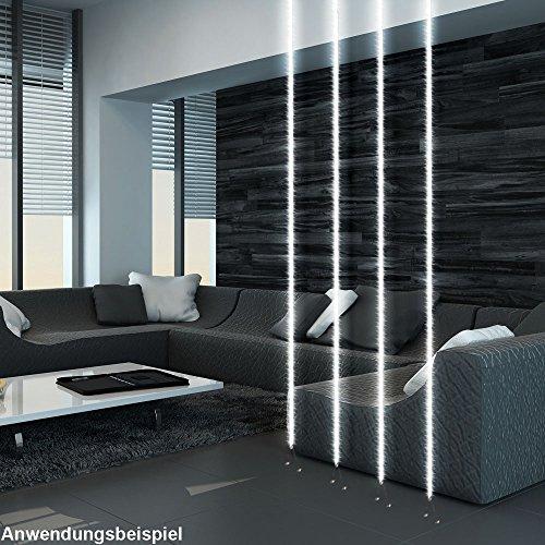 2er Set 224x LED Licht Spann Band 8 Meter Wohn Zimmer Raum Trenner Strap 4000lm Stripe