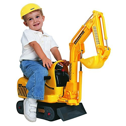 Find Bargain Skyteam Technology Micro Construction Excavator Ride-On by Unknown