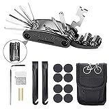 Etercycle Bike Tool Kit, 16 in 1 Multifunction Bicycle Repair Tool, Mountain Bike
