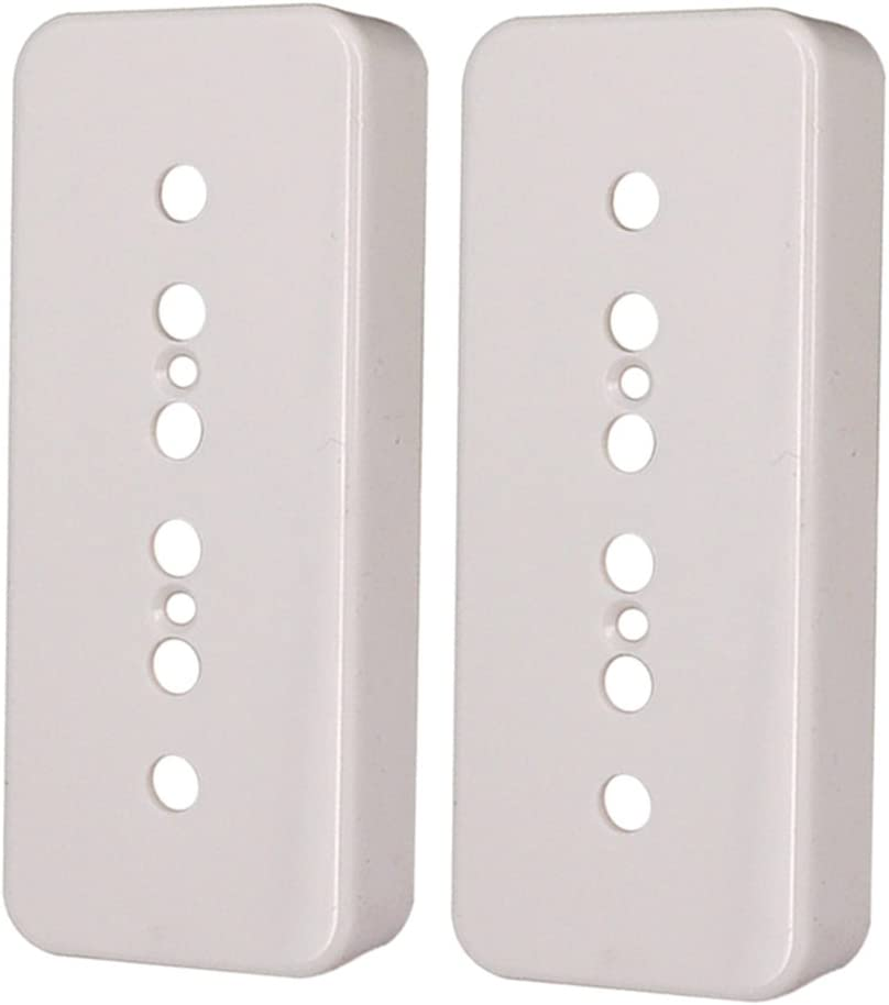 LoveinDIY 2Pcs P90 Soapbar Pickup Cover for P Miami Mall Max 81% OFF 50 Gibson Les 52mm
