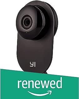 (Renewed) YI Home Camera Wireless IP Security Surveillance System (Black)