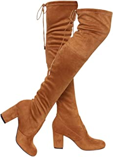 Best tan suede knee high boots Reviews