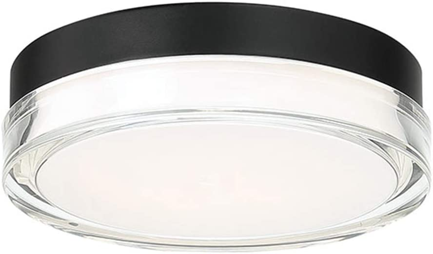 Dot 9in LED Round Flush Black 3000K Max 54% OFF in Mount Las Vegas Mall