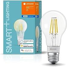 LEDVANCE LED lamp | Lampvoet: E27 | Warm wit | 2700 K | 6 W | SMART+ Filament Classic Dimmable [Energie-efficiëntieklasse ...