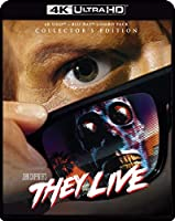 They Live (4K Ultra Hd/Blu-Ray Collector's Edition)