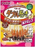 ペティオ ササミ+チキンガムMOGU ダブル巻き 豚アキレス 10本入