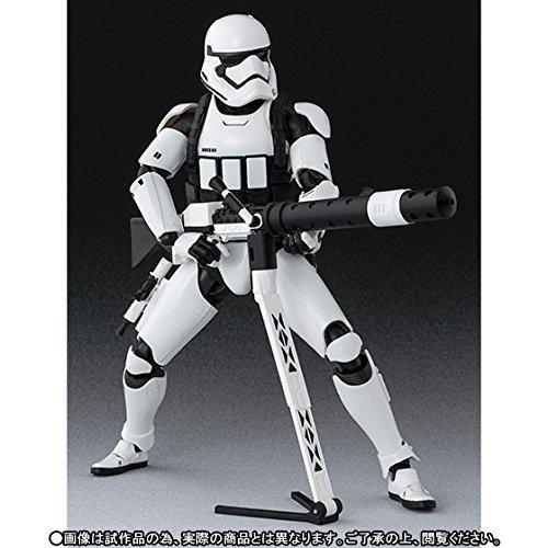 Star Wars - First Order Stormtrooper (Heavy Gunner) - Edition Limitée [SH Figuarts][Importación Japonesa]