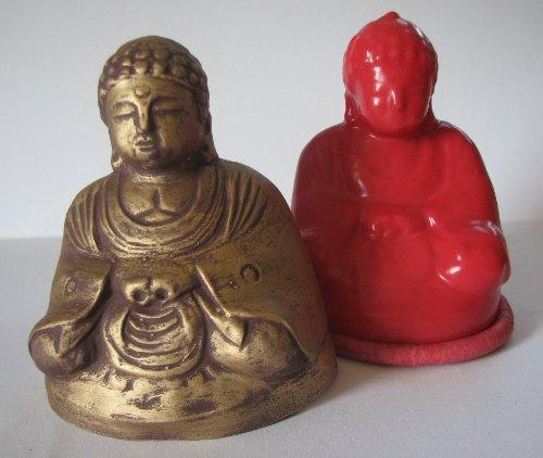Latexform - Buddha betend, 100 mm
