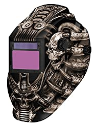 METAL MAN ATEC8735SGC BY TECHNO SKULL with Skull Design