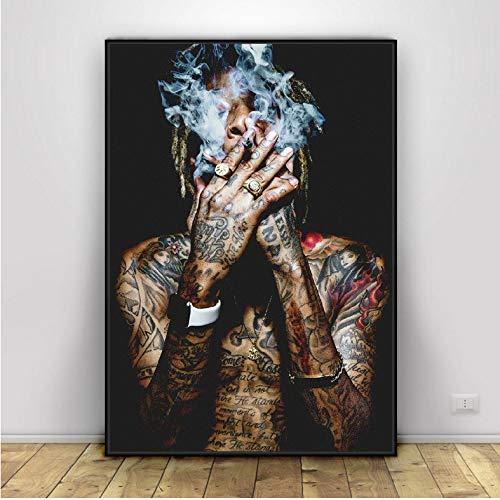 Rap Musik Hip-Hop Kunst Seide Stoff Poster Drucken Wandbilder Für Raumdekor 40X60 cm Ohne Rahmen
