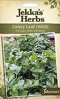 【輸入種子】 Johnsons Seeds Jekka's Herbs Celery Leaf(Wild) ジェッカズ・ハーブス セロリ・リーフ(ワイルド) ジョンソンズシード