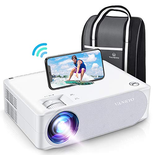 VANKYO Performance V630W Upgraded Native 1080P Projector, Full HD WiFi Projector, Supports 5G Synchronize Smartphone Screen & Max 300', Perfect for Home Outdoor Movies, Compatible w/TV Stick/HDMI/PS4