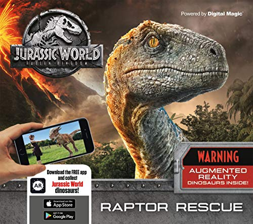 Jurassic World Fallen Kingdom - Raptor Rescue: Augmented Reality Dinosaurs Inside! (Digital Magic)