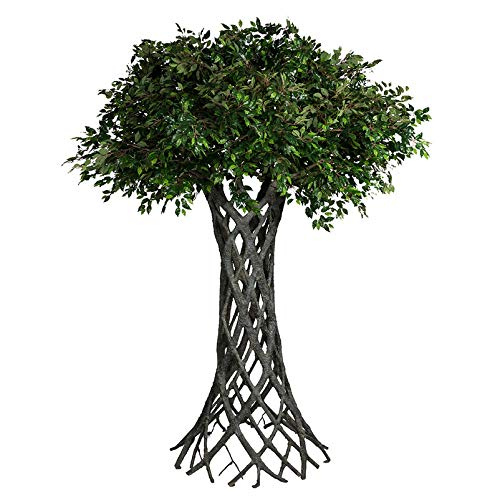 Pflanzen Kölle Kunstpflanze Ficusbaum grün, ca. 23.562 Kunststoffblätter, ca. 320 cm
