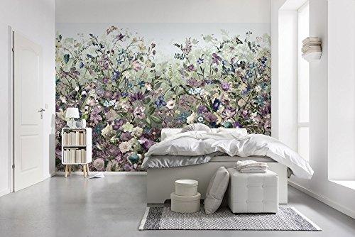 Komar - Vlies Fototapete BOTANICA - 368 x 248 cm - Tapete, Wand Dekoration, Blumen, Schlafzimmer,...