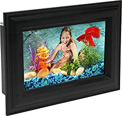 AquaScene .75-Gallon Fish Tank with LED Lighting - Best Wall Mounted Aquariums