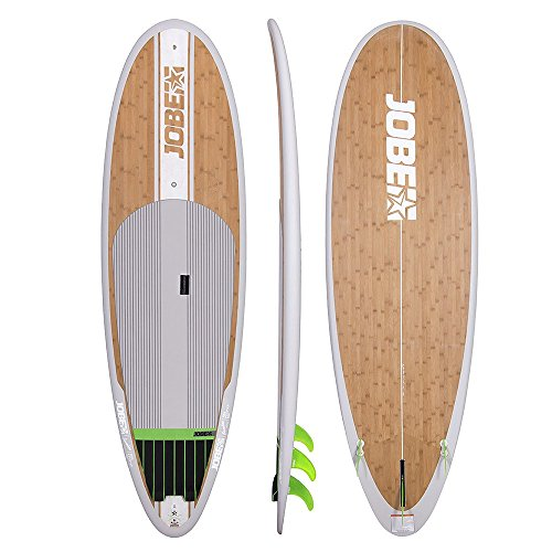 Jobe Bamboo Vizela 9.4SUP 2017in legno stand Up Paddle Board/surfboard pacchetto