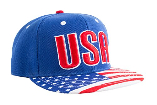 Epic USA American Flag Pride Merica Snapback Hat of Freedom, Liberty, Justice