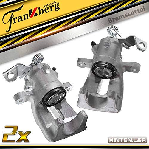 2x Bremssattel Bremszange Hinten Links Rechts für Astra G Meriva Astra MK IV Meriva MK I Zafira MK I (A) 2001-2010 1605078