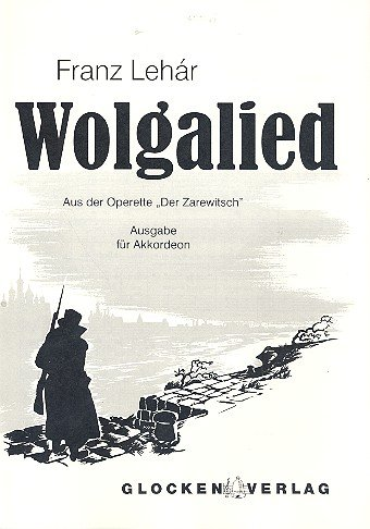 Wolgalied - Accordion - Buch