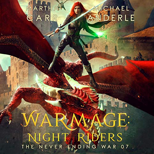 WarMage: Night Riders Audiobook By Martha Carr, Michael Anderle cover art