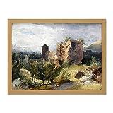 Doppelganger33 LTD Painting Landscape Blechen Heidelberg