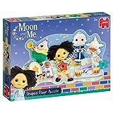 Jumbo 19744 - Mond und Me - geformtes Puppenhaus-Puzzle Puzzle, Mehrfarbig