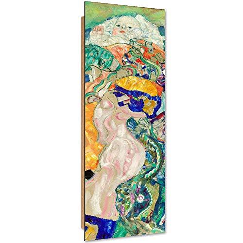 F FEEBY WALL DECOR Deco Panel Kind Jugendstil Bild Kunstdruck modern Bunt Klimt Mehrfarbig 30x90 cm
