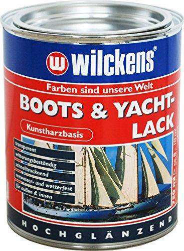 Kunstharzlack (Boots & Yachtlack inkl. Pinsel zum Auftragen (750 ml)