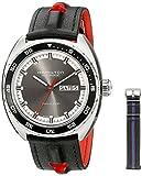 Hamilton Reloj de Hombre H35415781 Timeless Class Analógico con Pantalla automática de Viento automático Gris