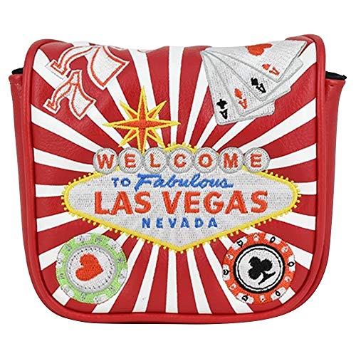 PRG Originals Vegas Spider Mallet Putter Cover (Red)