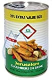 Jerusalem Pickled Cucumbers in Brine Pack of 6