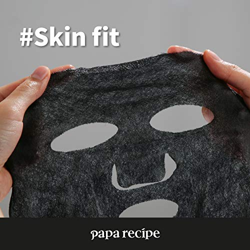 Papa Recipe Bombee Black Honey Mask Pack 10 sheets. Korean skin care, facial skin care sheet mask, deep Moisturizing for dry skin