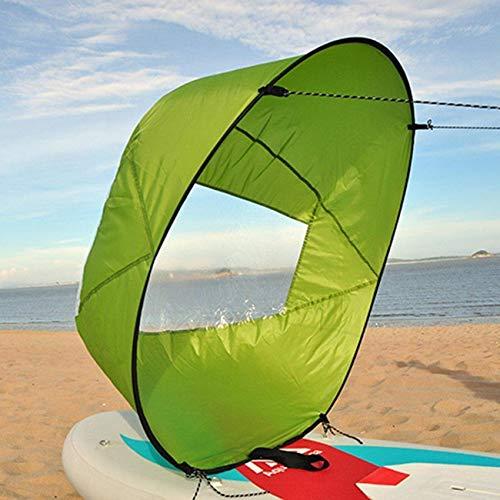 Fold Up Sail 42 Pulgadas Kayak Sail Paddle