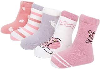 5 paia Calzini estivi per bambine in cotone Socks Uwear