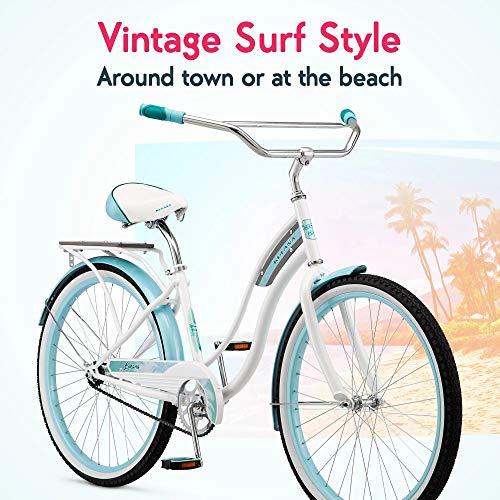 51kwMUT5EkL. SL500 Schwinn Perla Womens Beach Cruiser Bike
